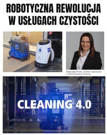 cleaning 4.0 robotyzacja wusługach czystości