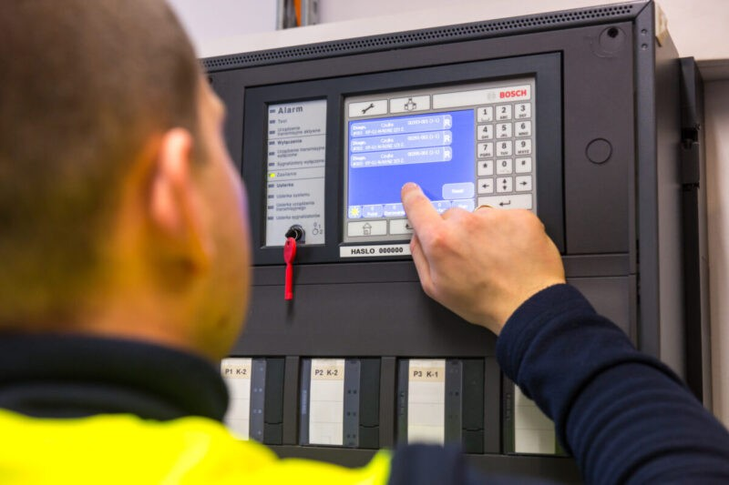 serwis ikonserwacja systemów zabezpieczeń technicznych