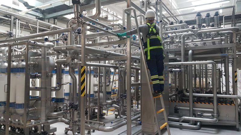 utrzymanie czystości dla przemysłu - sprzątanie wfabrykach