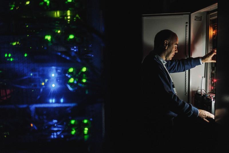 zabezpieczenia systemów technicznych - serwerownia